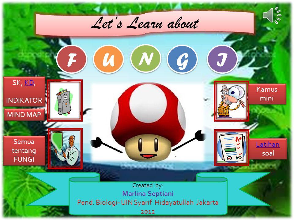 Back to HOME Latihan soal Latihan soal Kamus mini Kamus mini Semua tentang FUNGI FUNGI Semua tentang FUNGI FUNGI Next Back Peranan Jamur Di dalam ekosistem,kami sebagai jamur sangat berperan sebagai dekomposer.