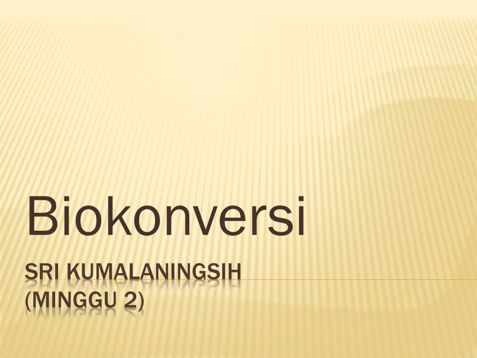 Biokonversi