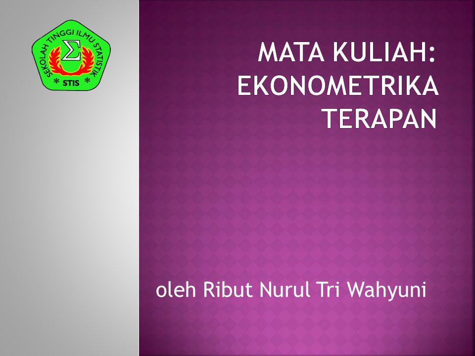 oleh Ribut Nurul Tri Wahyuni