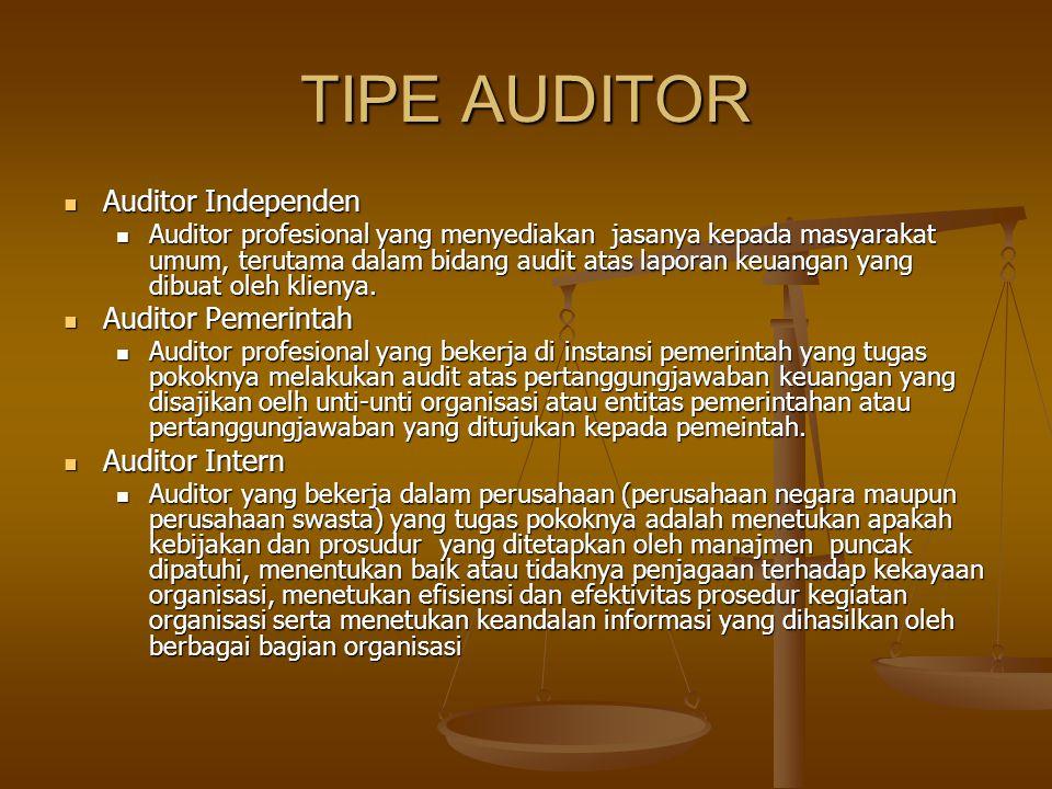 Definisi Jasa Auditing, Atestasi dan Assurance Adalah jasa profesional independen yang meningkatkan kualitas informasi,atau konteksnya, bagi para pemb