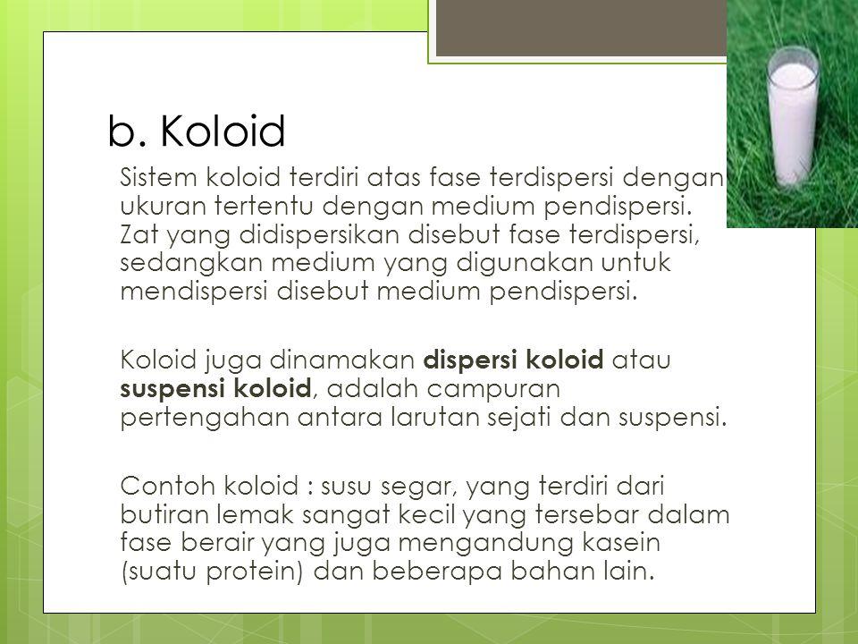 D.Pembuatan Koloid 1. Cara kondensasi a. Reaksi Redoks b.