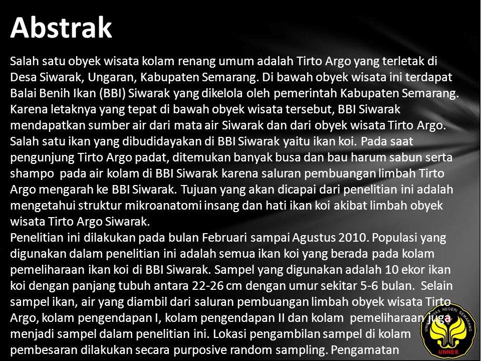 Abstrak Salah satu obyek wisata kolam renang umum adalah Tirto Argo yang terletak di Desa Siwarak, Ungaran, Kabupaten Semarang.