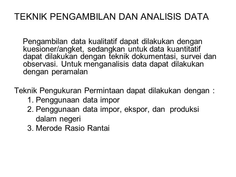 TEKNIK PENGAMBILAN DAN ANALISIS DATA Pengambilan data kualitatif dapat dilakukan dengan kuesioner/angket, sedangkan untuk data kuantitatif dapat dilak