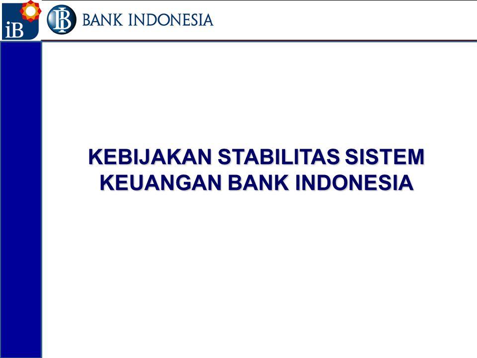 KEBIJAKAN STABILITAS SISTEM KEUANGAN BANK INDONESIA 13