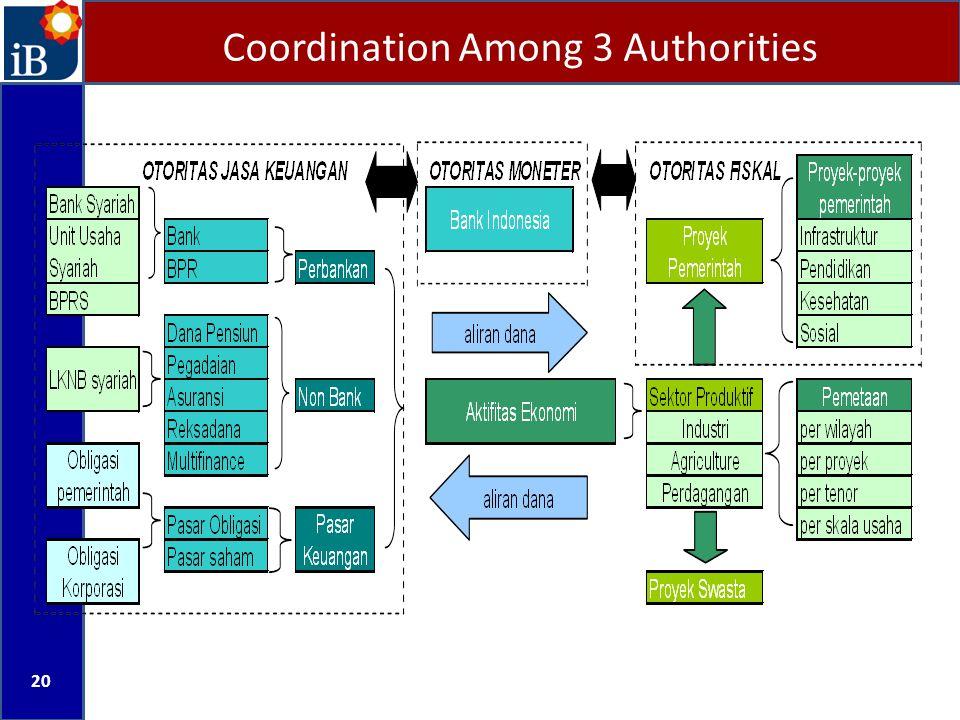 Coordination Among 3 Authorities 20