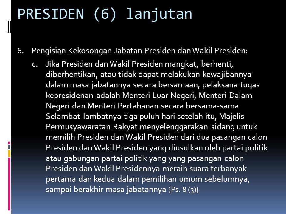 PRESIDEN (7) 7.