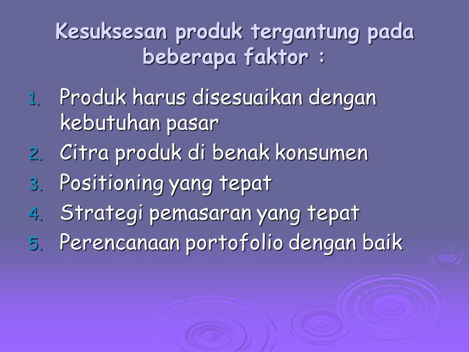Peranan Pemasaran Dalam Strategi Produk 1.