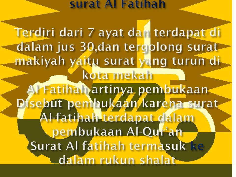 Rukun Fi'liyah adalah : rukun shalat yang berhubungan dengan gerakan shalat Rukun Qauliyah adalah : rukun shalat yang berhubungan dengan ucapan dalam shalat