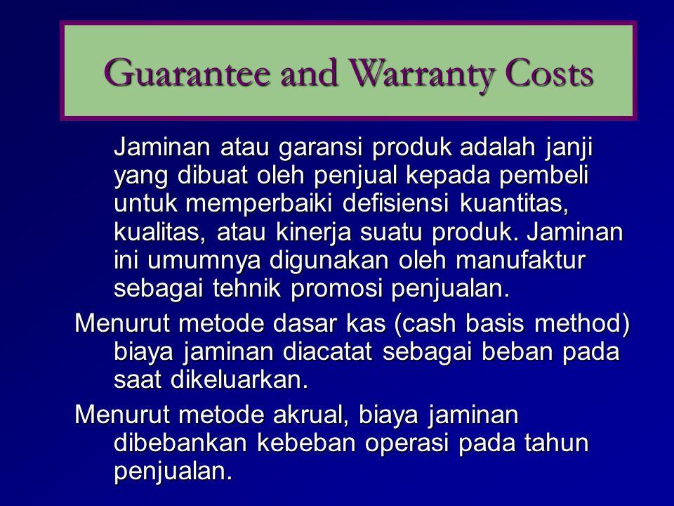 Faktor2 yang harus dipertimbangkan dalam menetukan apakah suatu kewajiban harus dicatat berkenaan dg litigations, claim, assesment: 1. Periode waktu d