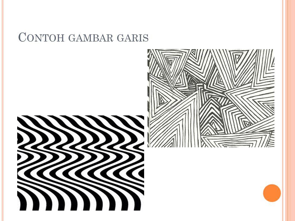 C ONTOH GAMBAR GARIS
