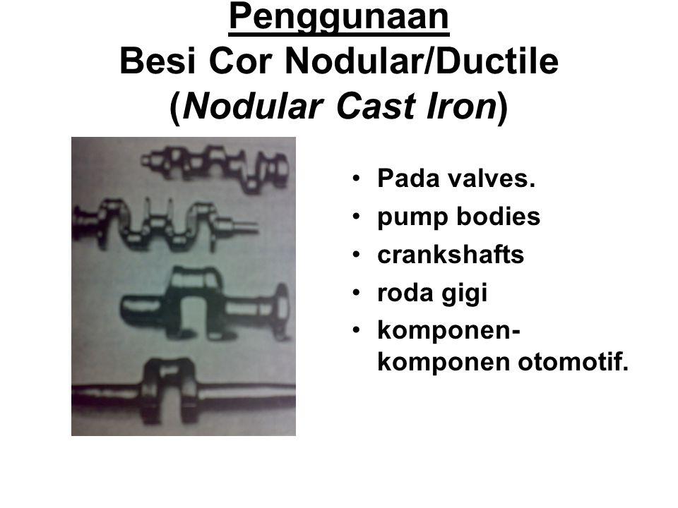 Struktur Besi Cor Nodular/Ductile