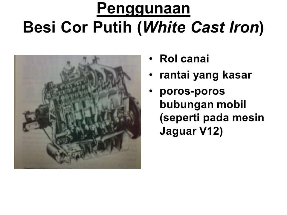 Struktur Besi Cor Putih
