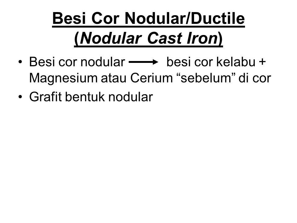 Penggunaan Besi Cor Kelabu (Gray Cast Iron) Pipa air pendingin Pompa air kotor Roda gigi tirus Baling-baling kapal
