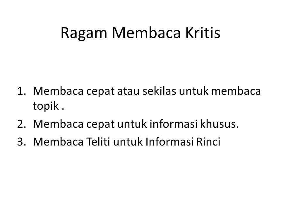 contoh Aminuddin (Ed.).1990. Pengembangan Penelilian Kualitalif dalam Bidang Bahasa dan Sastra.