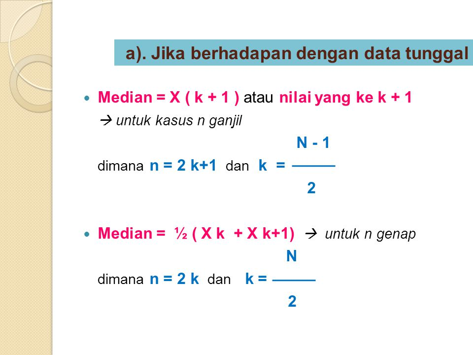 ½ N – Cfb Median = Bb + {}.