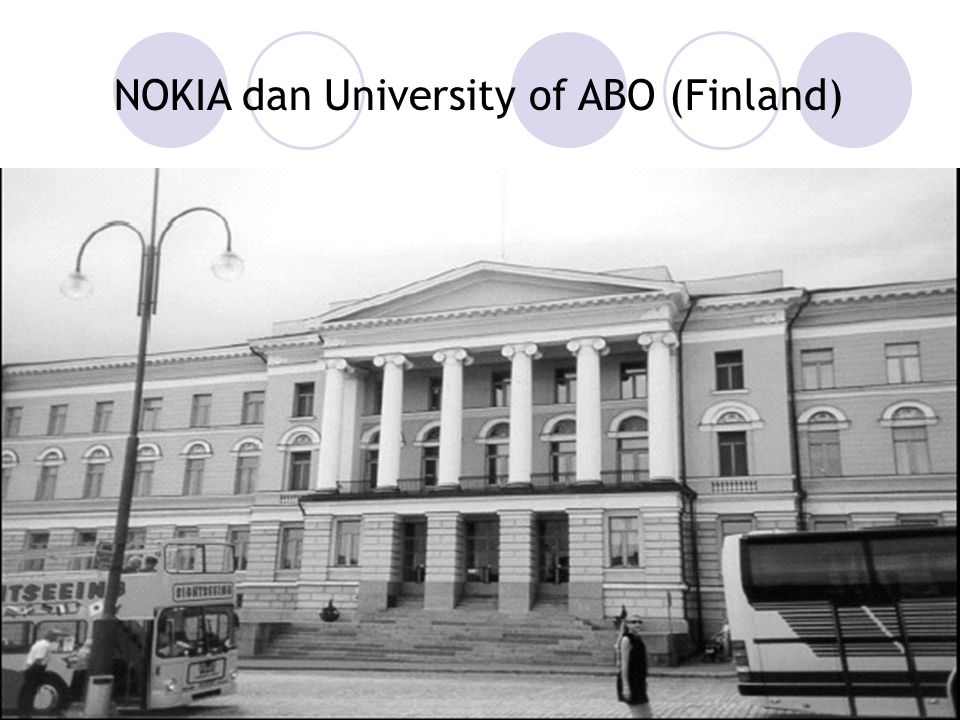 5 NOKIA dan University of ABO (Finland)