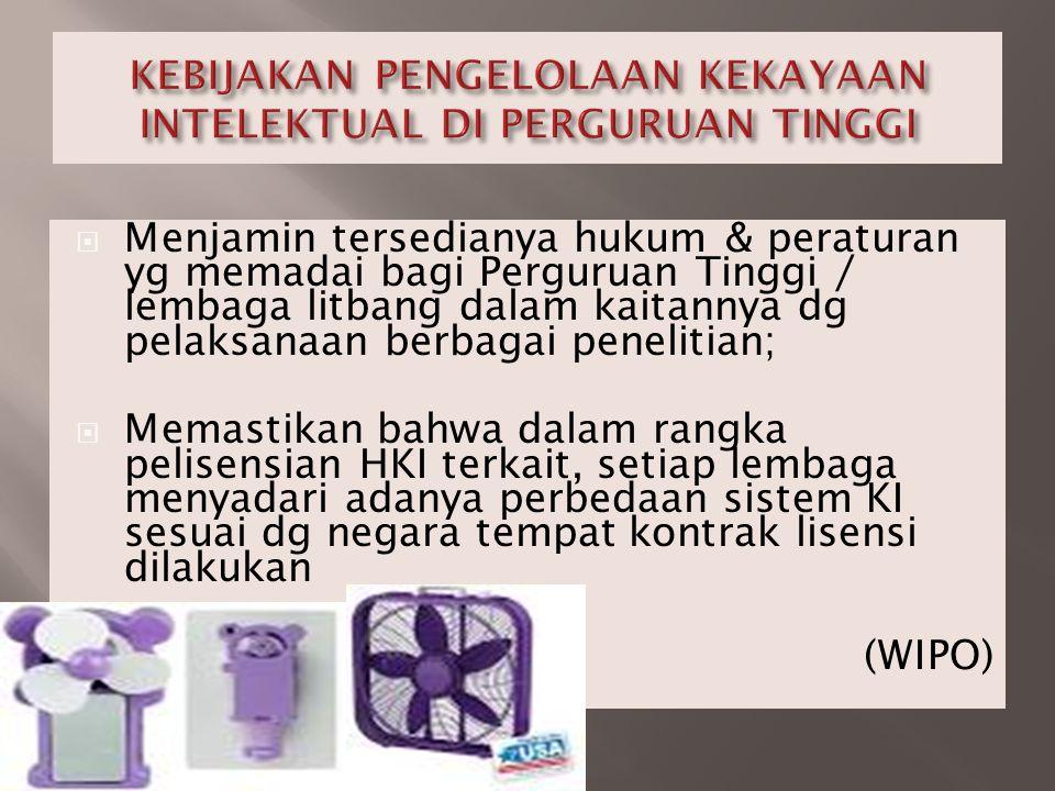 SENTRA HKI adalah unit kerja yang berfungsi MENGELOLA, MENDAYAGUNAKAN KEKAYAAN INTELEKTUAL, sekaligus sebagai PUSAT INFORMASI dan PELAYANAN HKI IP MANAGEMENT (BASIS SISTEM HKI) Penjelasan UU No.18/2002 Ps.13: