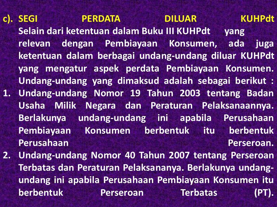 3.Undang-undang Nomor 8 Tahun 1999 tentang Perlindungan Konsumen dan Peraturan Pelaksanaannya.
