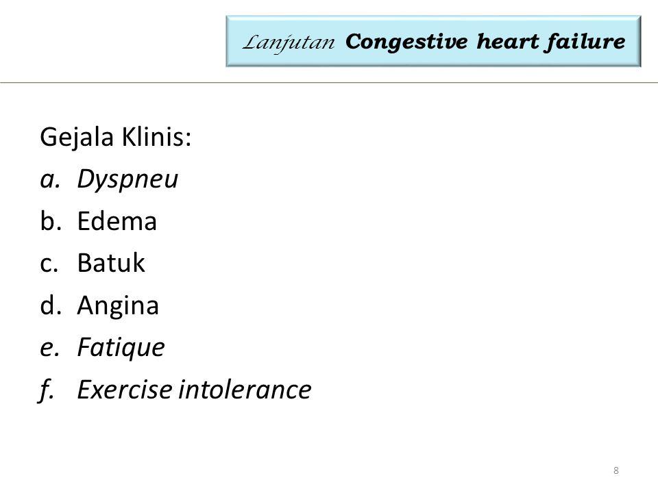 MONITORING PEMERIKSAAN LAB- PADA PENYAKIT JANTUNG Akibat penyakit jantung perlu monitor efek pada organ lain: paru, liver, dan ginjal Yang harus dimonitor : o Blood Gas analisis menentukan kadar pH,pCO2,O2,  utk menentukan Asidosis respiratoris (krn pasien jantung umumnya sesak) o AST dan ALT (liver Enzime)  umumnya meningkat o Lipid Profile  kol-HDL, kol-LDL, Trigliserida  resiko aterosklerosis o Electrolite (Na, K, Cl)  monitor Tx diuretik pada pasien gagal jantung yg umumnya tjd edema 29