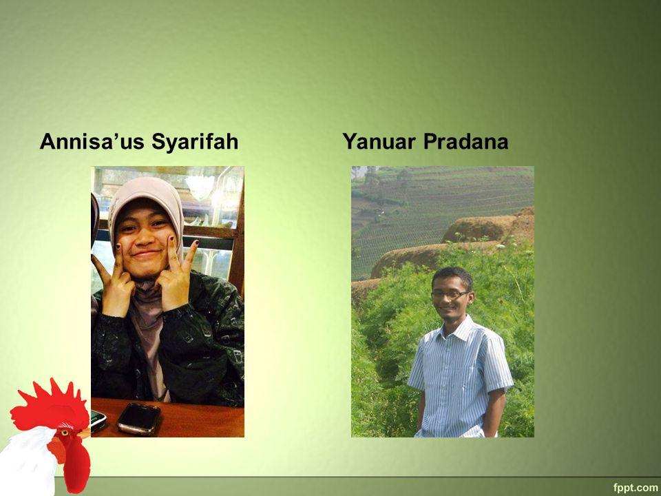 Annisa'us SyarifahYanuar Pradana