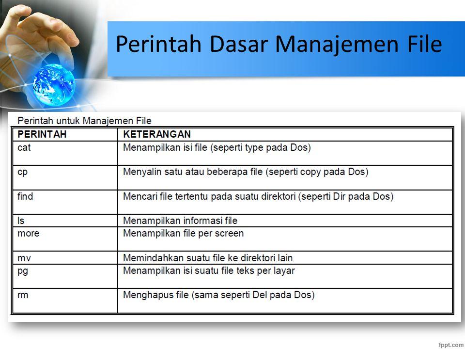 Perintah Dasar Manajemen File