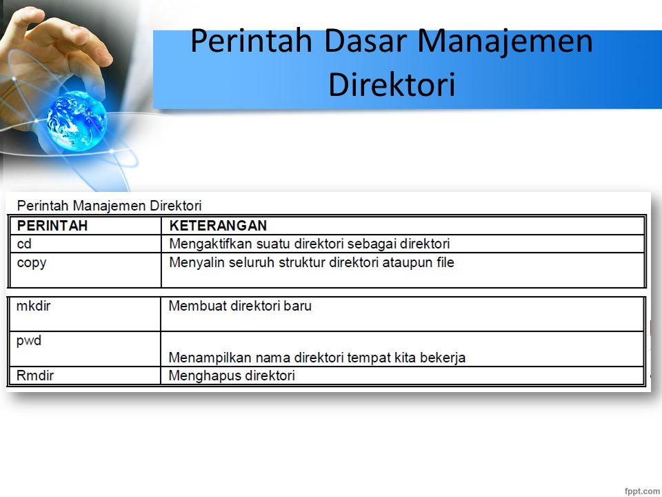 Perintah Dasar Manajemen Direktori