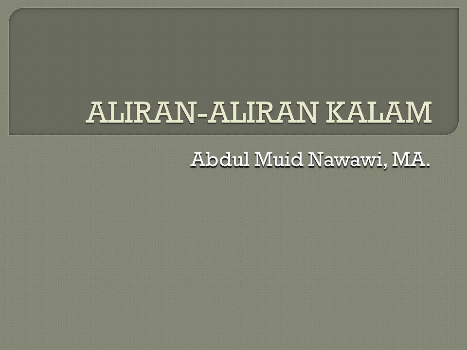 Abdul Muid Nawawi, MA.