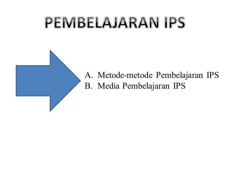 A.Metode-metode Pembelajaran IPS B.Media Pembelajaran IPS
