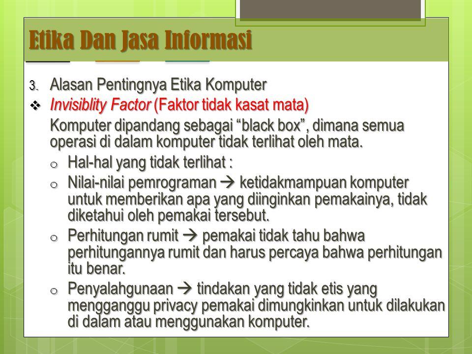 Etika Dan Jasa Informasi 3.