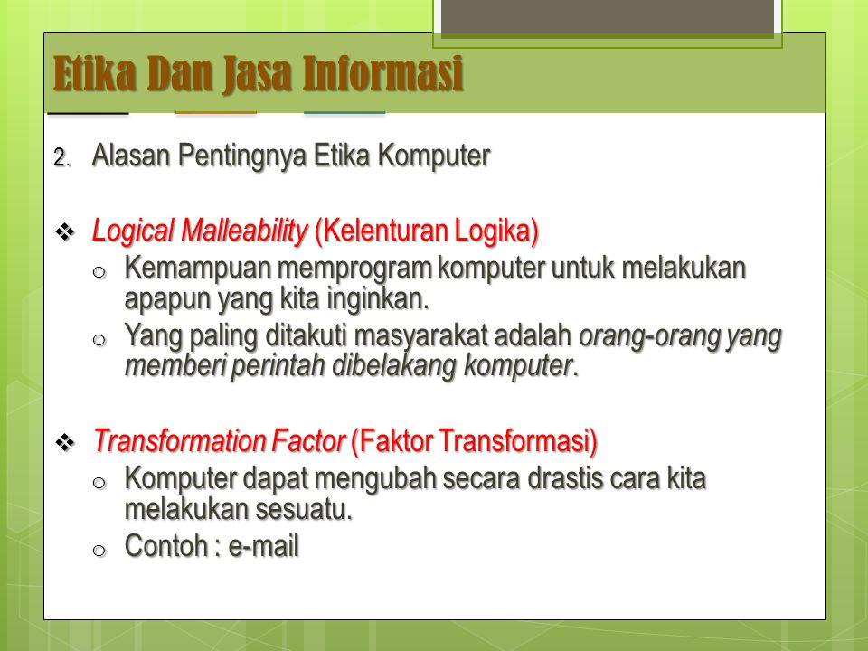 Etika Dan Jasa Informasi 2.