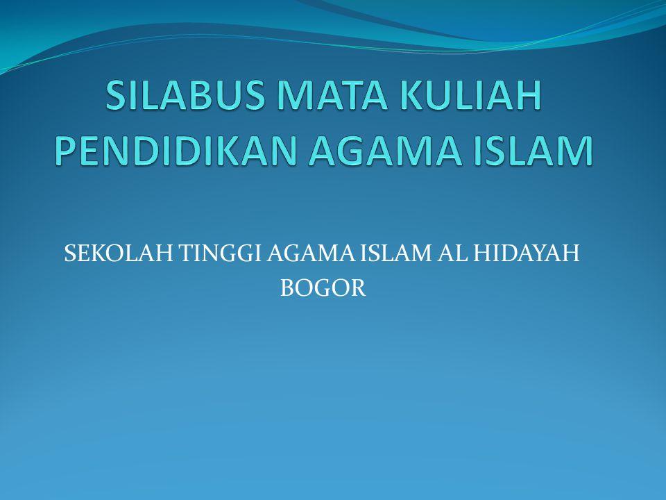 SEKOLAH TINGGI AGAMA ISLAM AL HIDAYAH BOGOR