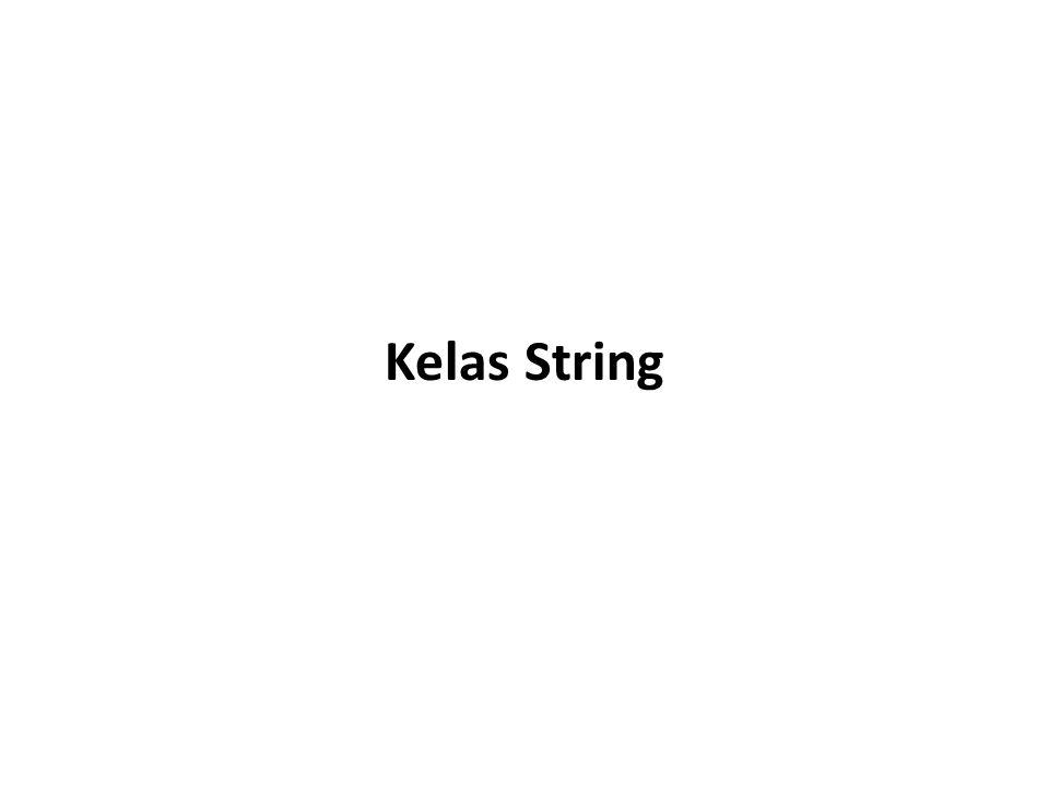 Kelas String