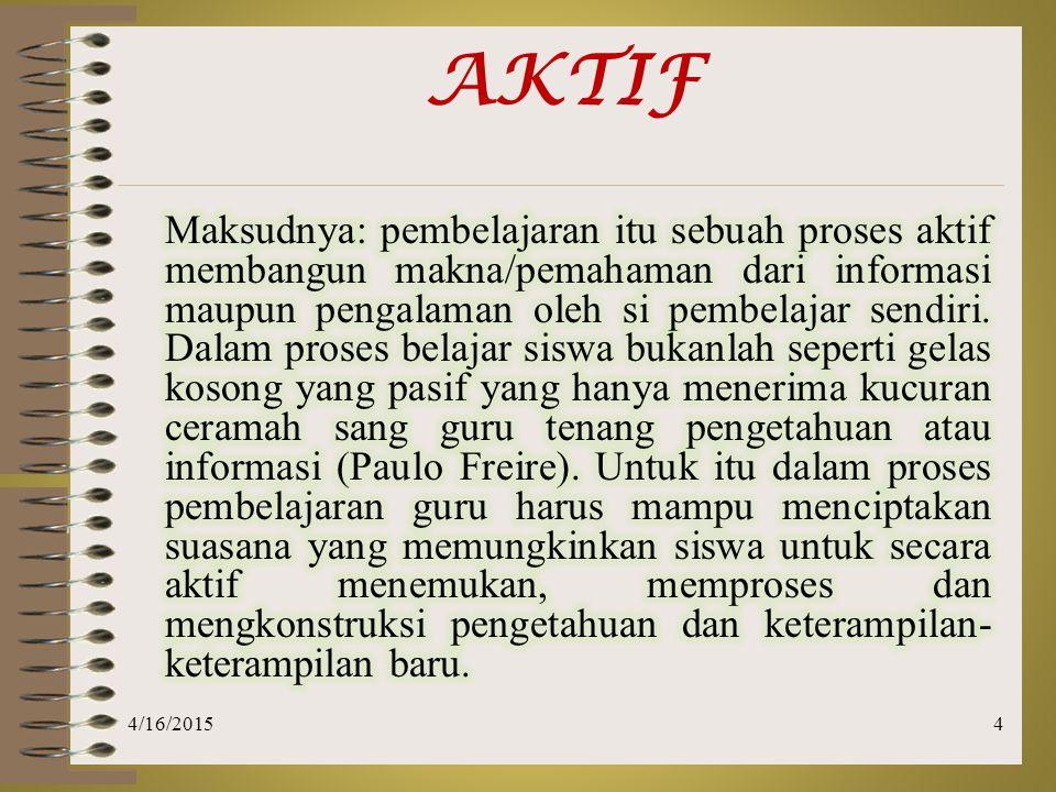 4/16/20155 AKTIF