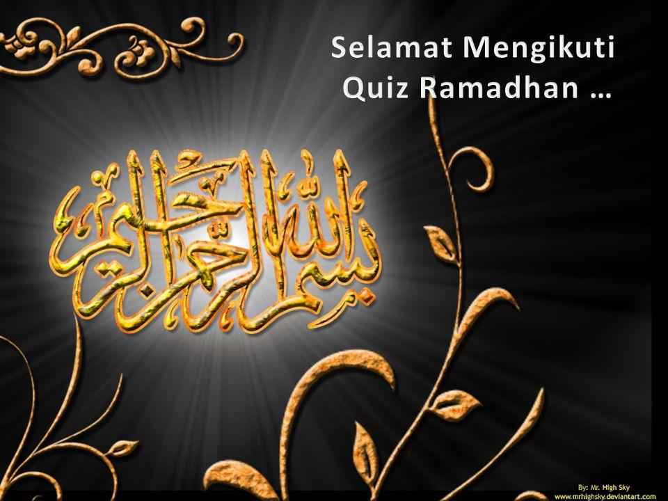 A.Ubaidillah ibnu Zalul B.Salman Al-Farishi C.Nu'man bin Huyay 19.