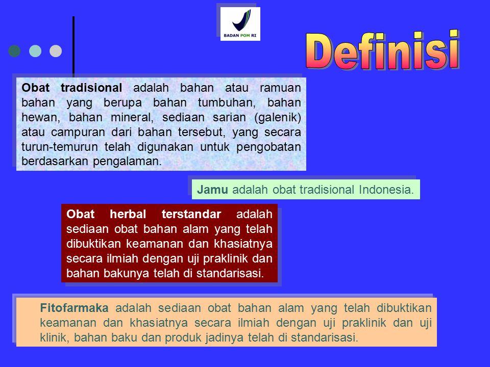 7 Persyaratan 1)Obat tradisional, obat herbal terstandar dan fitofarmaka yang dibuat dan atau diedarkan di wilayah Indonesia wajib memiliki izin edar dari Kepala Badan.