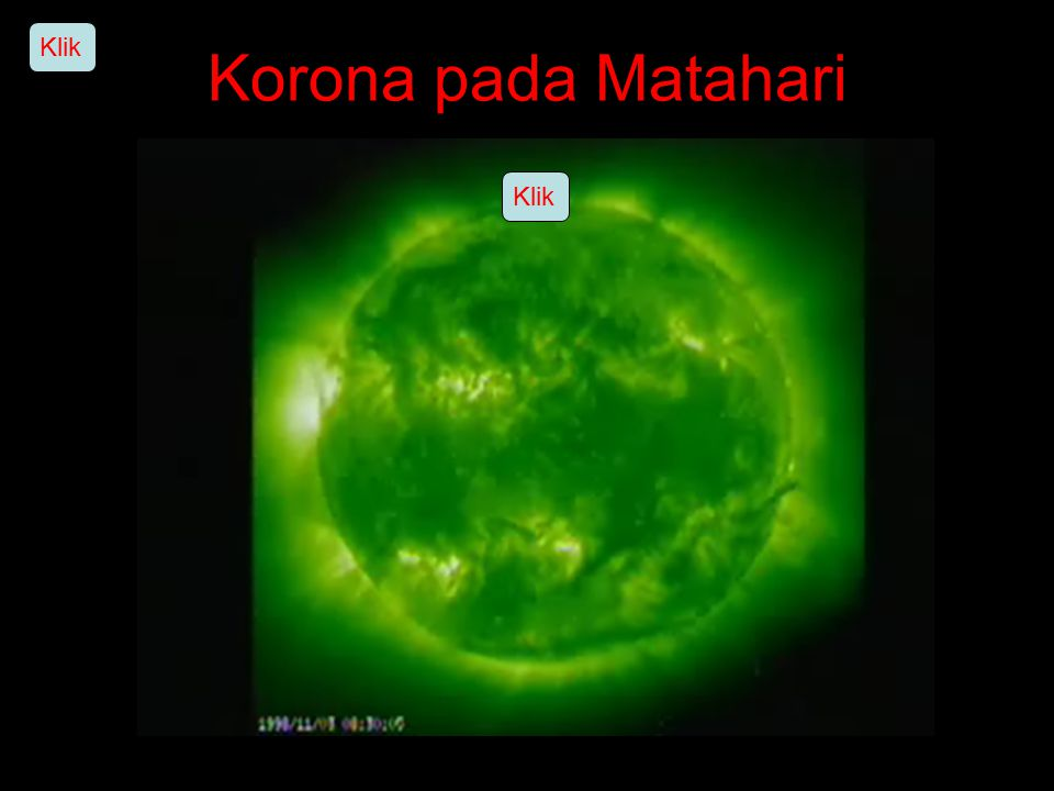 Korona pada Matahari Klik