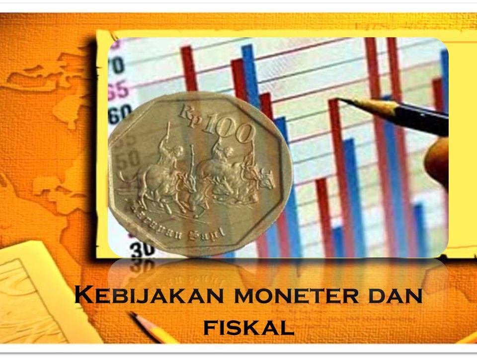 Kebijakan moneter dan fiskal