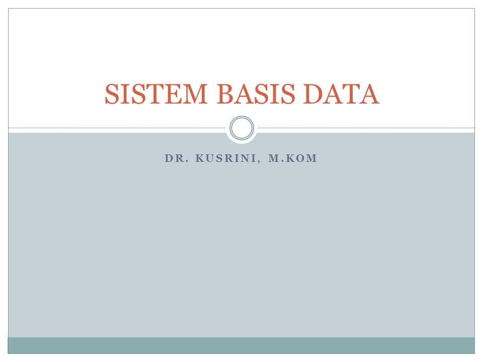 SISTEM Definisi sebuah tatanan yang terdiri atas sejumlah komponen fungsional (dengan tugas/fungsi khusus) yang saling berhubungan dan secara bersama-sama bertujuan untuk memenuhi suatu proses/pekerjaan tertentu Contoh  Sistem Kendaraan  Sistem Pernafasan  Sistem Perguruan Tinggi