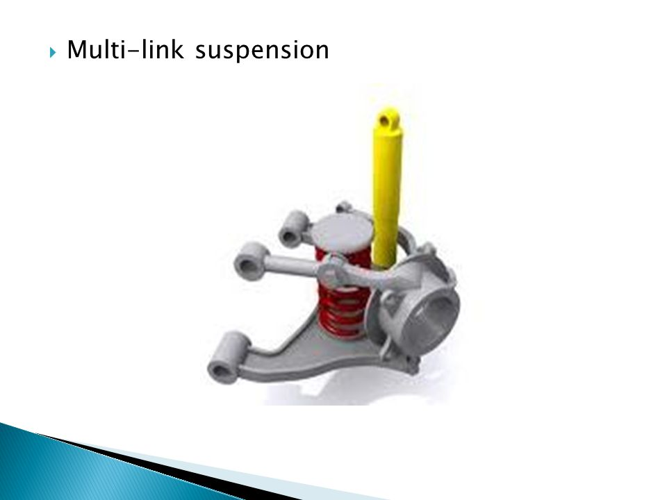 Multi-link suspension