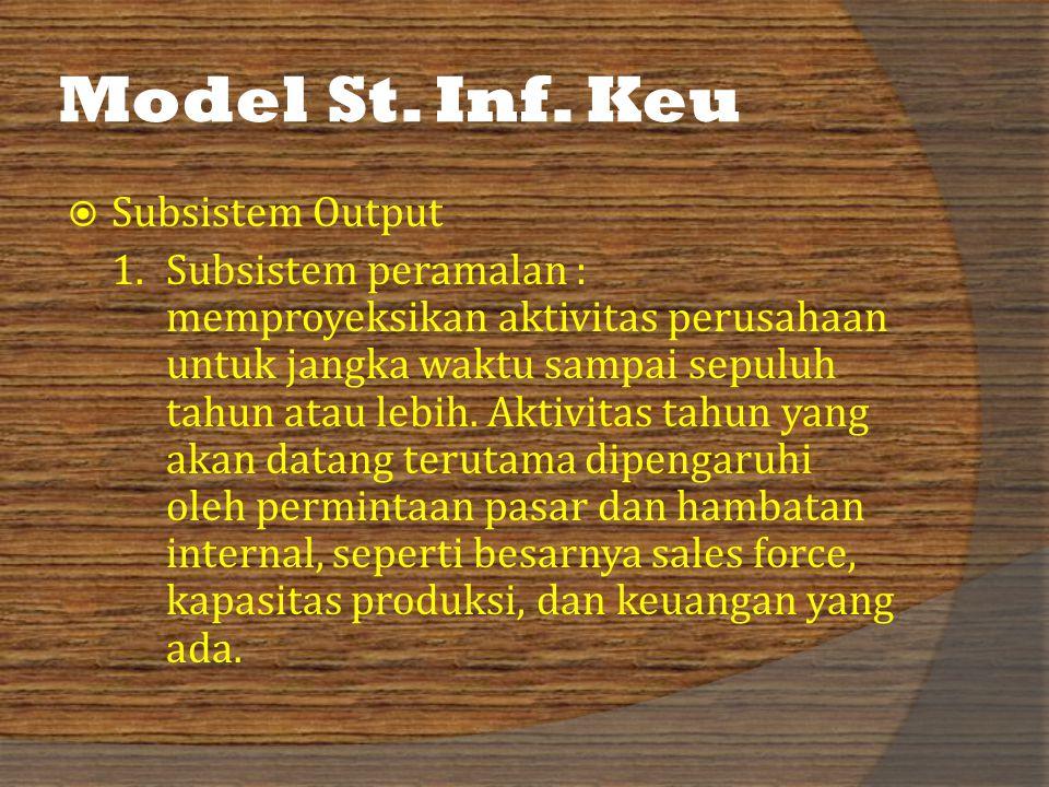 Model St.Inf. Keu  Subsistem Output 1.
