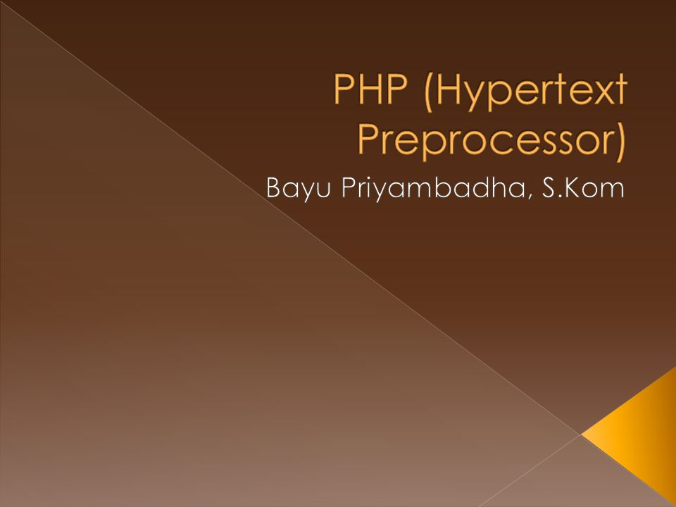  Programming language designed for building dynamic web applications  Server-side Scripting Internet Web Browser Apache PHP MySQL Disk Drive