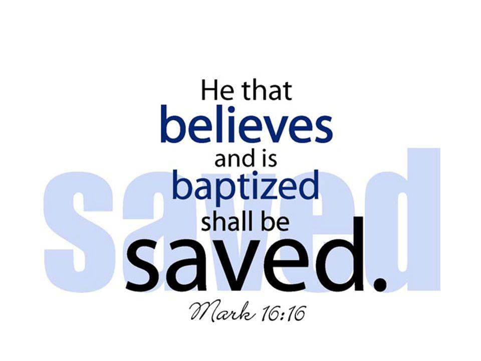 Mengapa Perlu dibaptis.