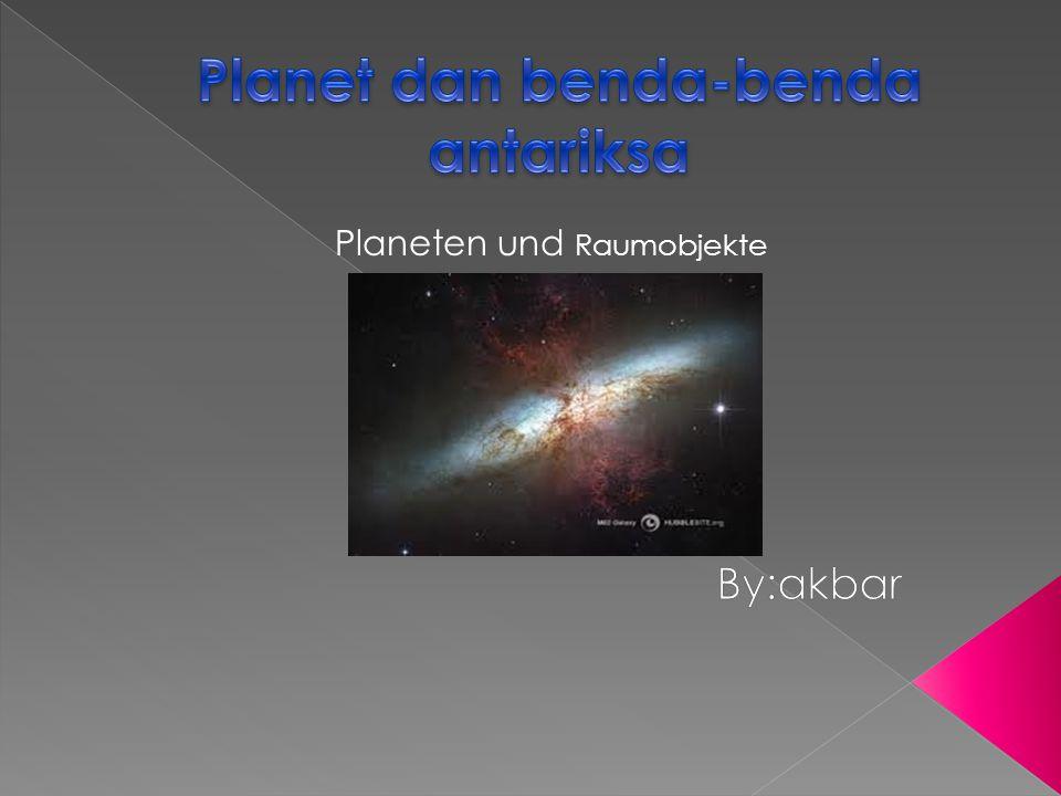 Planeten und Raumobjekte
