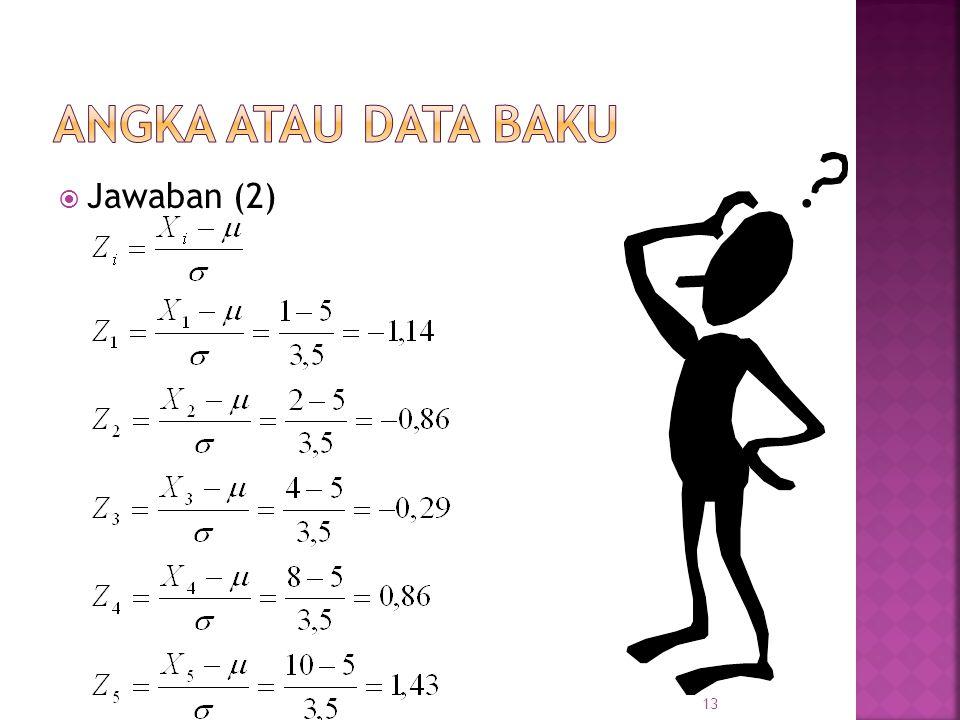  Jawaban (2) 13