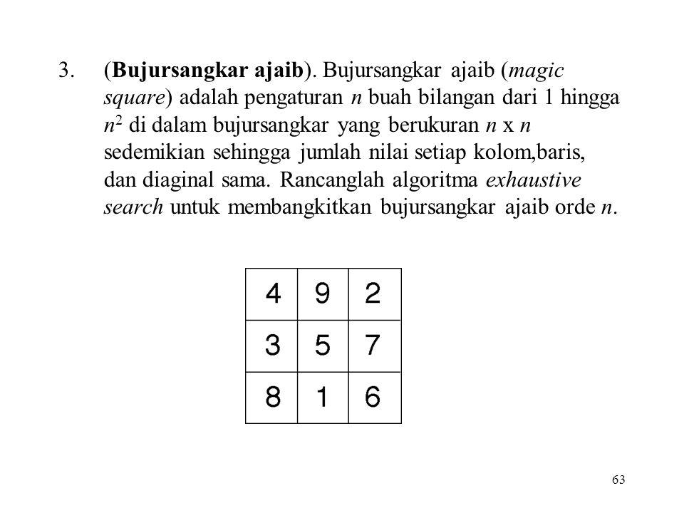 63 3.(Bujursangkar ajaib).