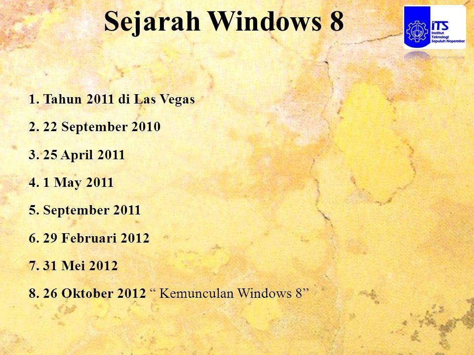 Perbedaan Windows 7 dengan Windows 8