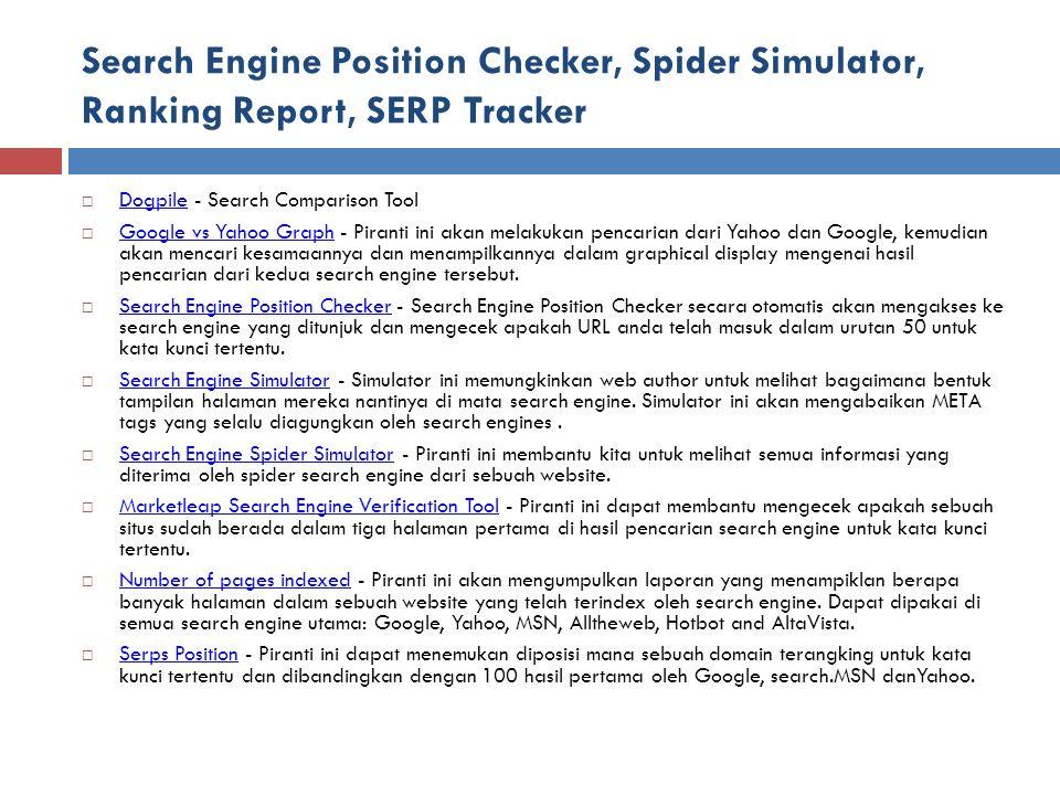 Search Engine Position Checker, Spider Simulator, Ranking Report, SERP Tracker  Dogpile - Search Comparison Tool Dogpile  Google vs Yahoo Graph - Pi