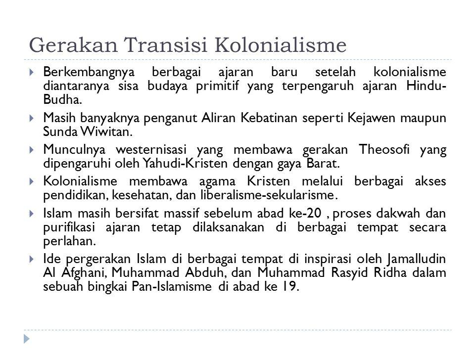 Faktor Pendorong Lahirnya Nasionalisme Indonesia  Faktor Intern 1.