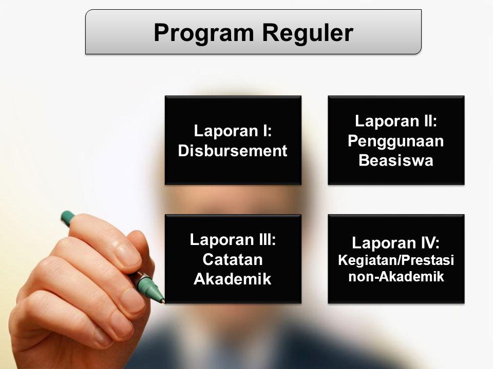 Laporan III: Catatan Akademik Laporan III: Catatan Akademik Laporan IV: Kegiatan/Prestasi non-Akademik Laporan IV: Kegiatan/Prestasi non-Akademik Lapo