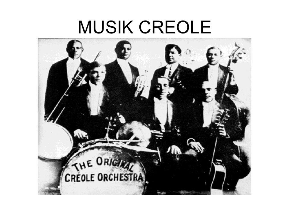 MUSIK CREOLE